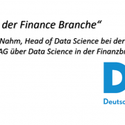 Interview mit der DKB über Data Science in der Finanzindustrie
