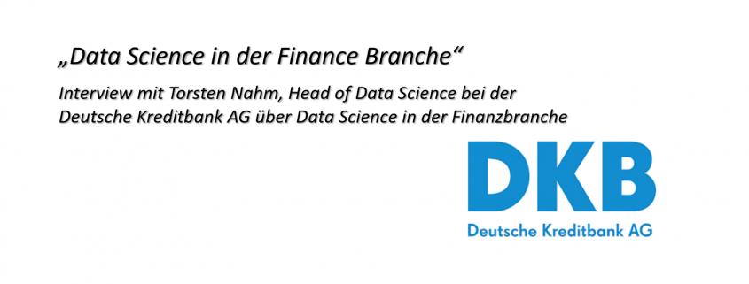 Interview mit der DKB über Data Science in der Finanzindustrie